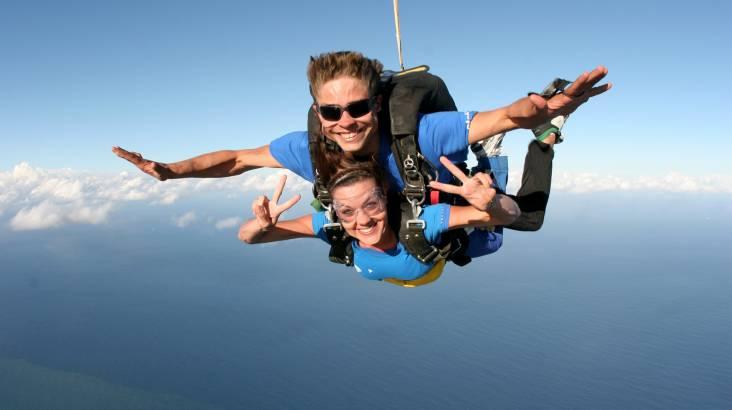 Skydive over the Beach - 15,000ft - Brisbane - Weekend