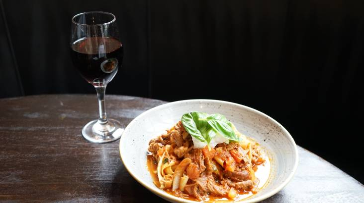 Italian 3 Course Dinner With Bottle of Wine - For 2
