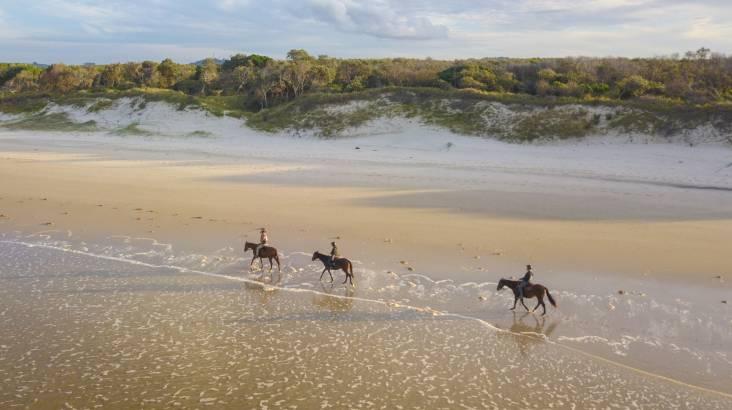 Byron Bay Sunrise or Sunset Horse Ride - 90 Minutes