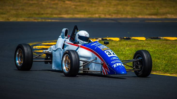 F1 Style Race Car Experience - 24 Laps - Wakefield Park