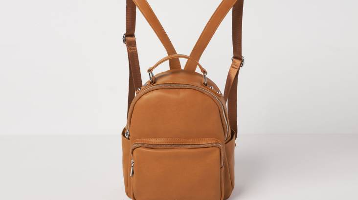 Mini Backpack in Vegan Leather - Various Colours