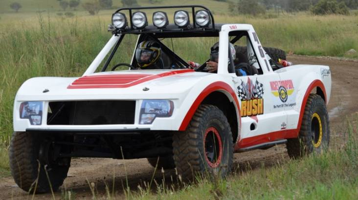 RedBalloon Trophy Truck Driving Baja Package - 20 Laps plus 2 Hot Laps