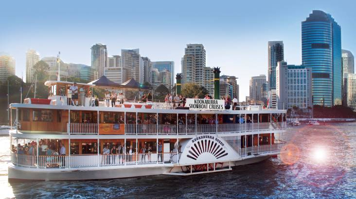 RedBalloon High Tea Cruise on the Brisbane River - For 2