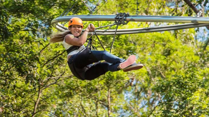 Flying Fox Amp Treetop Adventures Redballoon