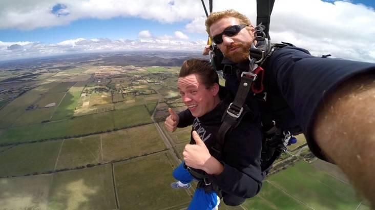 Skydive over Yarra Valley - 15,000ft - Weekday