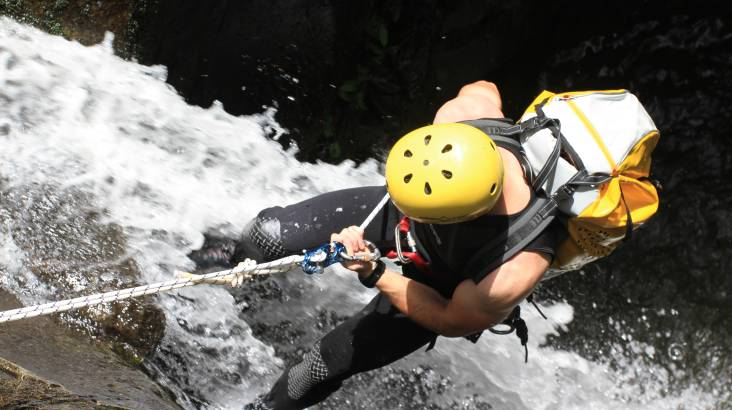 RedBalloon Rainforest Canyoning Adventure