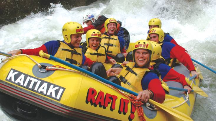 RedBalloon White Water Rafting on the Kaituna River - 3 Hours