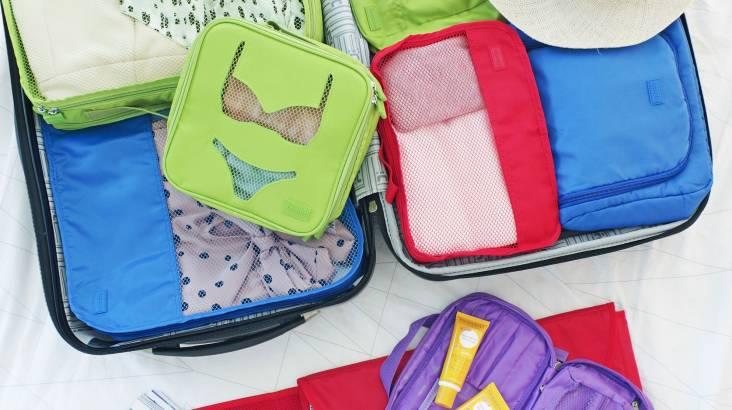7 Piece Luggage Organiser Set