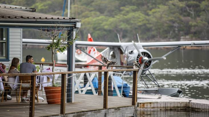 Seaplane to Cottage Point Inn for Lunch - For 2