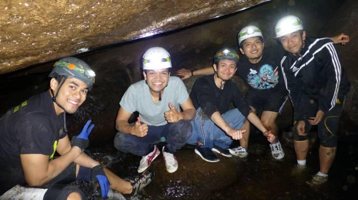 Britannia Caves Adventure - Night