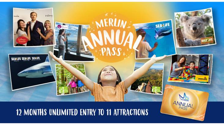 RedBalloon Merlin Attractions Annual Pass