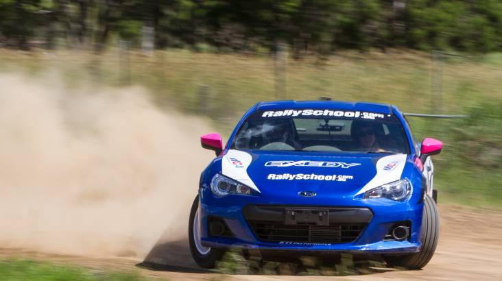 RedBalloon Rally Drive with Hot Lap Experience -13 Laps- Hunter Valley