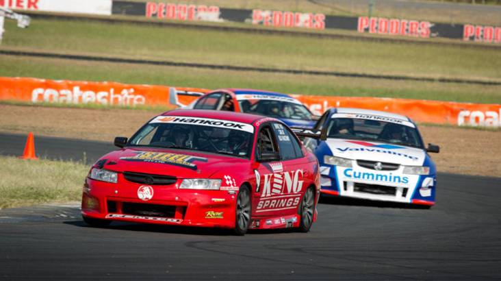 RedBalloon V8 Race Car Driving Experience - 6 Laps - Brisbane