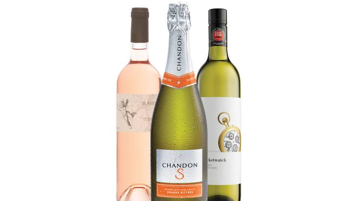 RedBalloon Summer Wine Trio with Chandon, Rosé and Pinot Gris