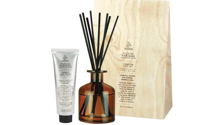 Vanilla and Lavender Diffuser and Hand Cream Gift Set