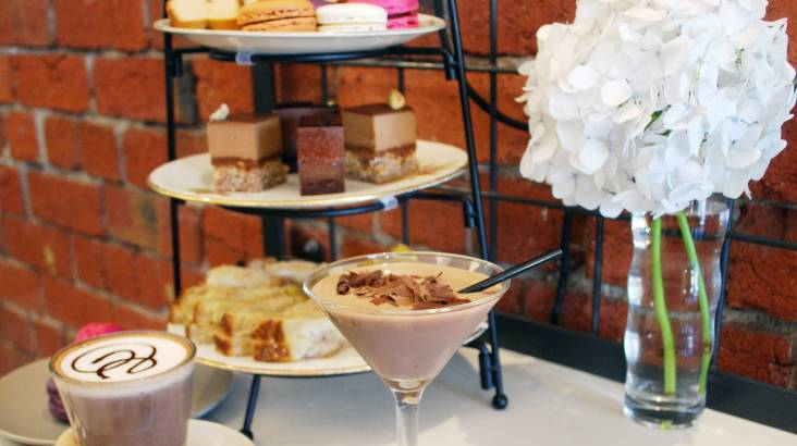 RedBalloon Chocolate High Tea with Coffee and Kitchen Tour - For 2