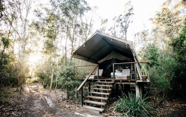 Glamping in Jervis Bay