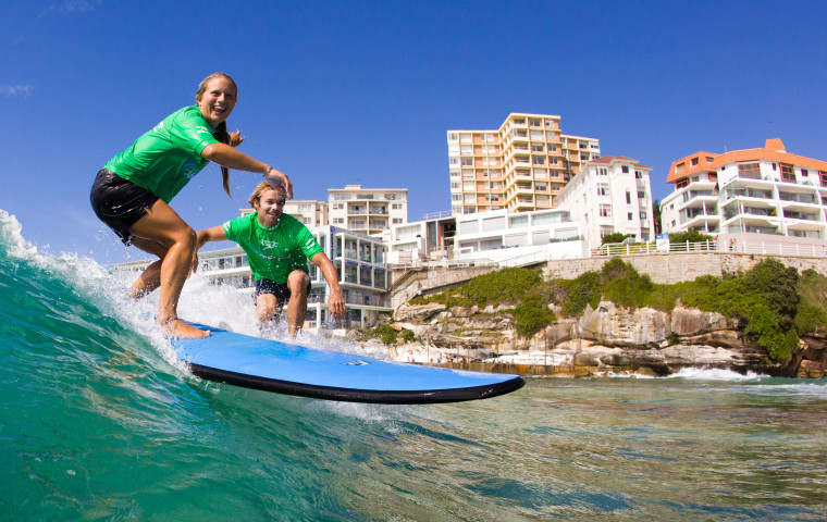 Learning to surf in Bondi