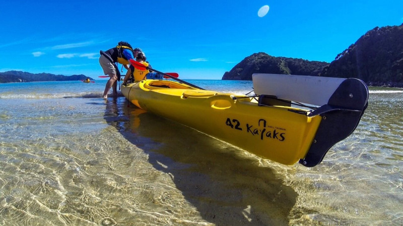 RedBalloon Paddle and Pedal Kayak and Mountain Bike Adventure