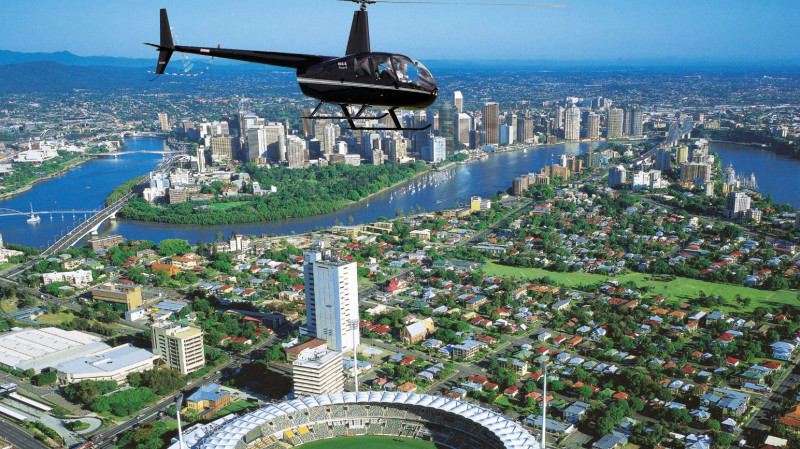 RedBalloon Scenic Helicopter Flight Over Brisbane - Weekend