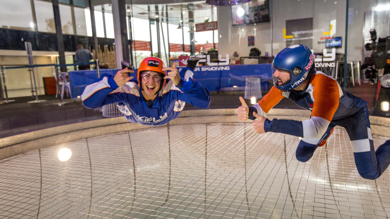 RedBalloon Indoor Skydiving Intro - 2 Flights - Wednesday to Friday