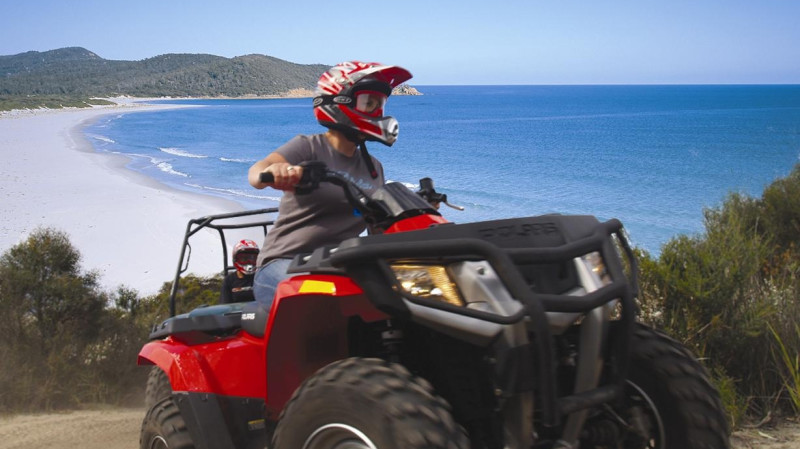 RedBalloon Quad Bike Tour in Freycinet - 2 Hours