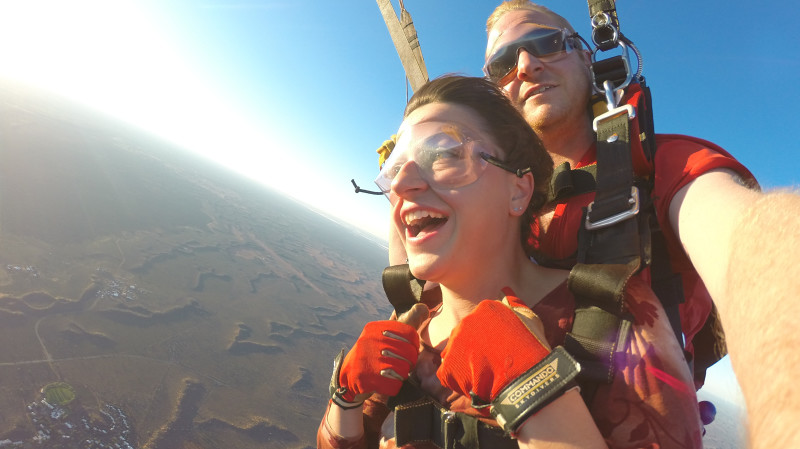 RedBalloon Uluru Sunset Tandem Skydive - 12,000ft - For 2