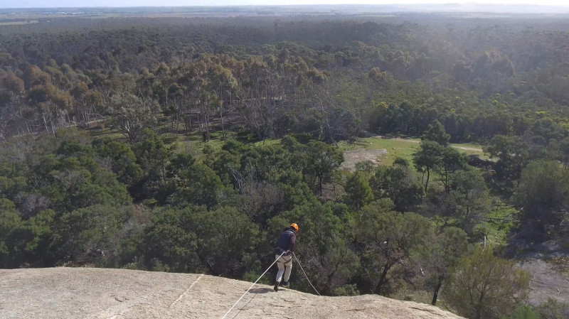 RedBalloon Forward Abseiling at The You Yangs - 2 Hours