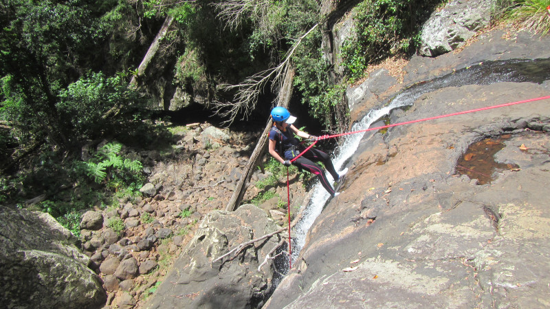 RedBalloon Canyoning in the Gold Coast Hinterland