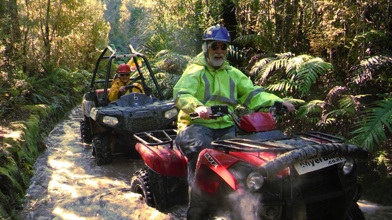 RedBalloon Quad Biking on the Enchanted Rainforest Track - 1 Hour