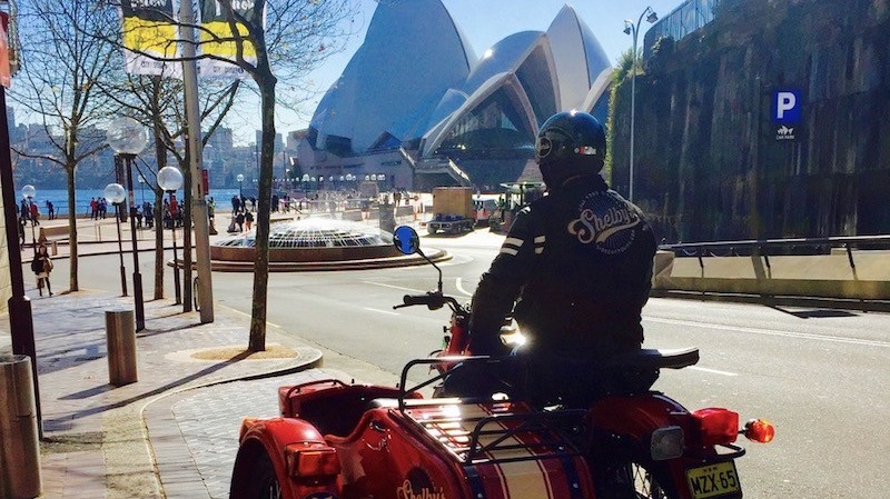 RedBalloon Sydney's Greatest Hits in Private Sidecar Tour