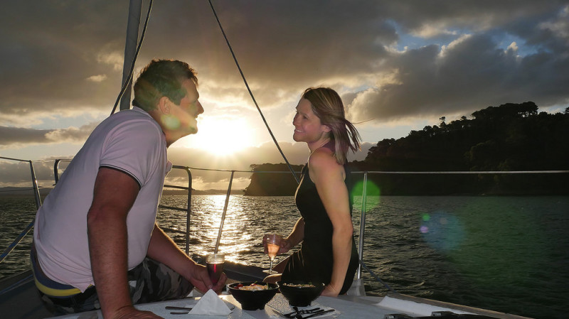 RedBalloon Sailing Yacht Cruise on Auckland Harbour with Dinner - Adult