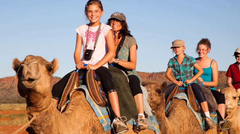 RedBalloon Outback Camel Ride Adventure - Child