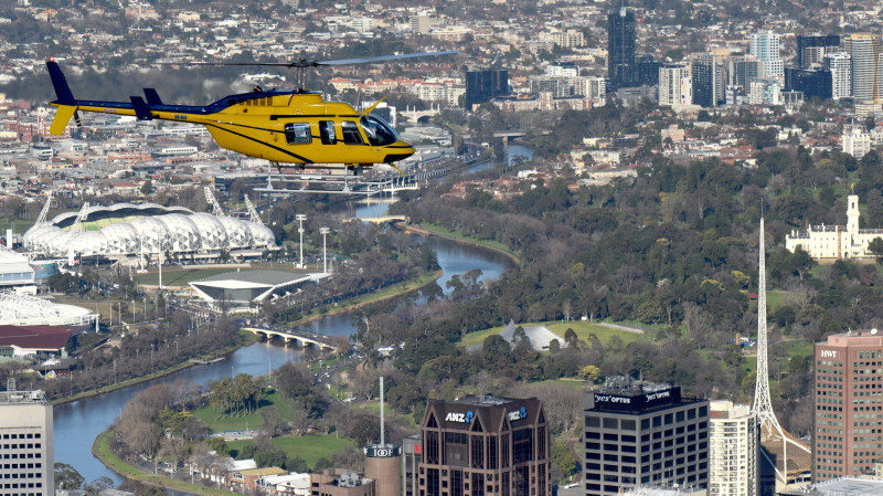 RedBalloon Helicopter Flight Over Melbourne - 20 Minutes