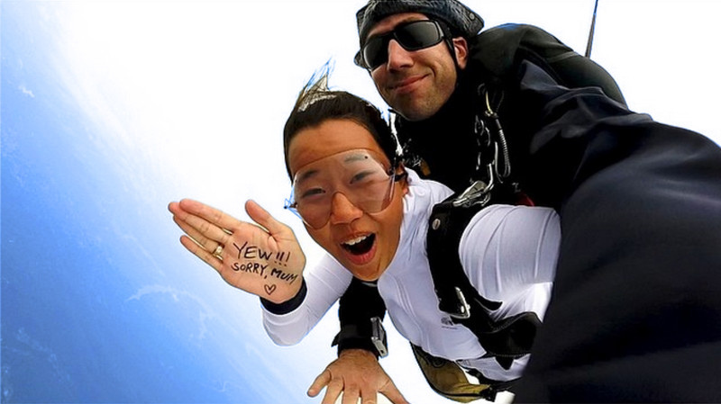 RedBalloon Tandem Skydive with Beach Landing - 15,000ft - Midweek