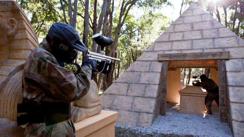 RedBalloon Paintball Experience - For 5 - Appin, NSW