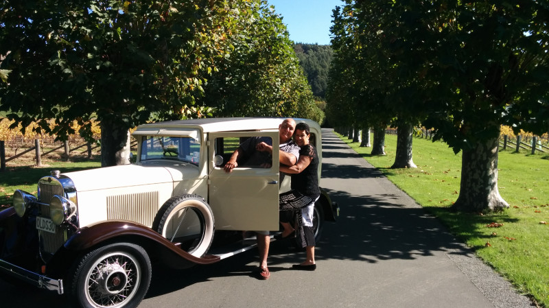 RedBalloon Vintage Car Day Hire in the Hawke's Bay