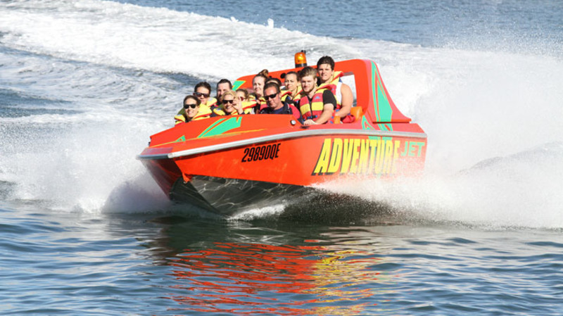 RedBalloon Jet Boat, Jet Ski and Parasailing Triple Thrills - For 2