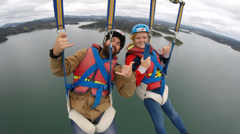 RedBalloon Parasailing Tandem Flight with Photos - For 2