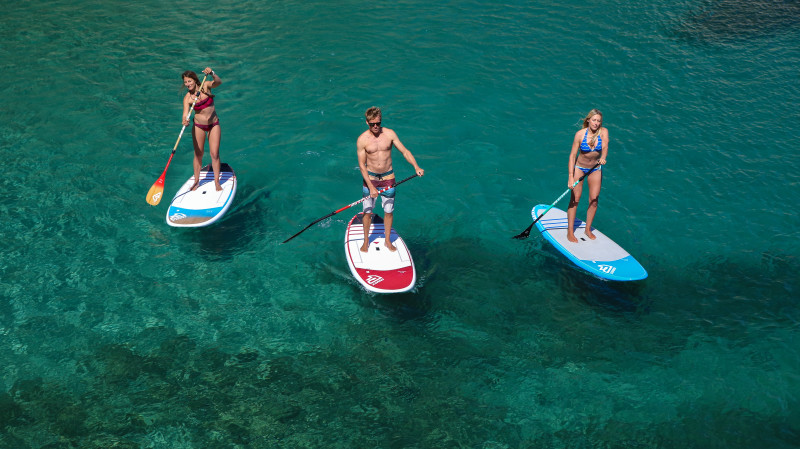 RedBalloon Stand Up Paddle Board Rental - 1 Hour