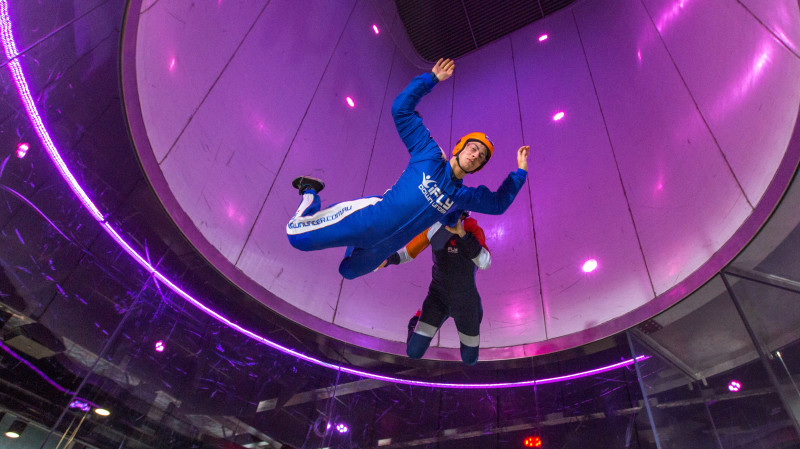 RedBalloon High Fly Indoor Skydive Package - 2 Flights - Gold Coast