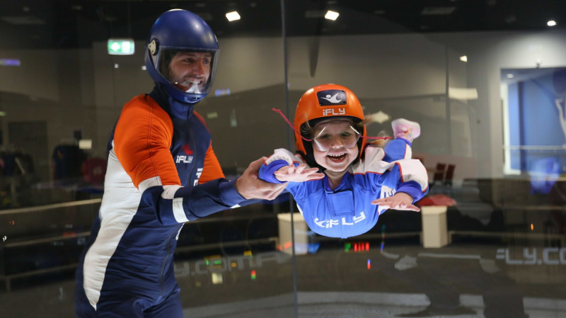 RedBalloon Plus Indoor Skydiving Package Double Length Flights
