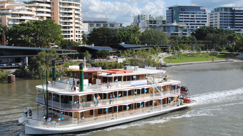 RedBalloon Jazz & Lunch Cruise on the Brisbane River - Saturday - For 2