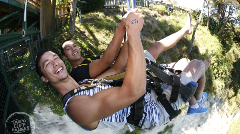 RedBalloon Tandem Cliffhanger Extreme Swing in Taupo