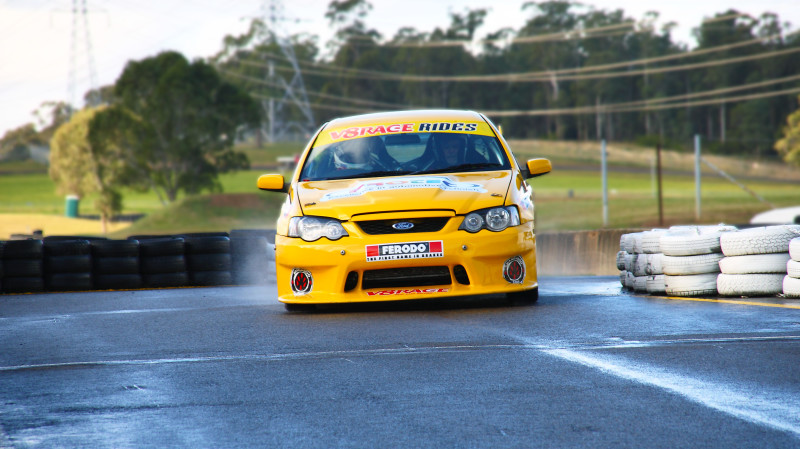 RedBalloon V8 Race Car Front Seat Hot Laps Ride - 3 Laps - TAS