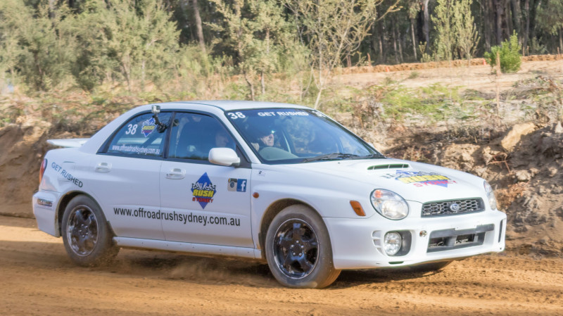 RedBalloon WRX Subaru Rally 6 Lap Drive and 1 Yamaha YXZ Hot Lap - NSW