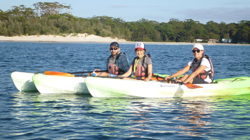 RedBalloon Guided Kayak Tour in Jervis Bay - 2 Hours