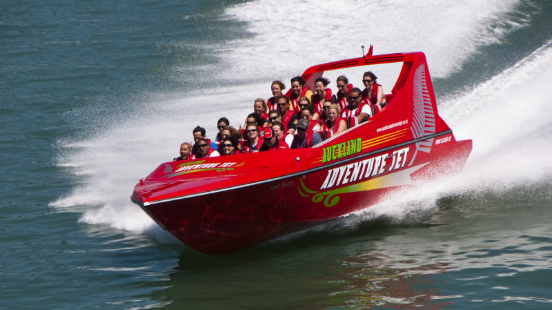 RedBalloon Jet Boat Adventure on Auckland Harbour - 35 Minutes