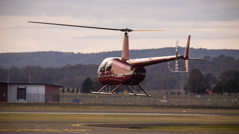 RedBalloon Helicopter Flying Lesson Over Canberra