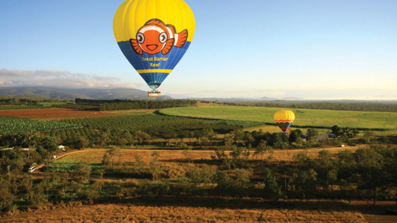 RedBalloon Hot Air Ballooning Over Atherton Tablelands
